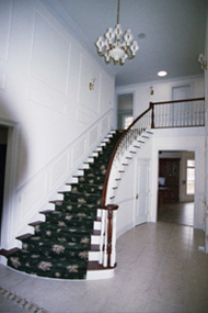 Interior painting foyer