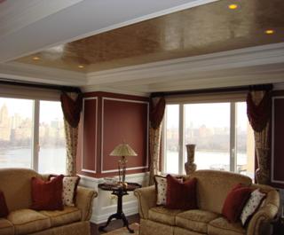 Marmorino Ceiling NY Penthouse